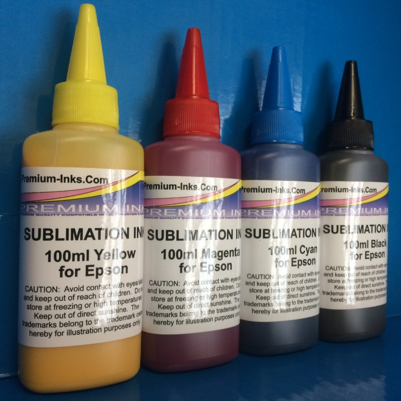 Details about 400ml Dye SUBLIMATION Ink for Epson WorkForce WF-7715DWF  WF-7720DTWF WF-7210DTW